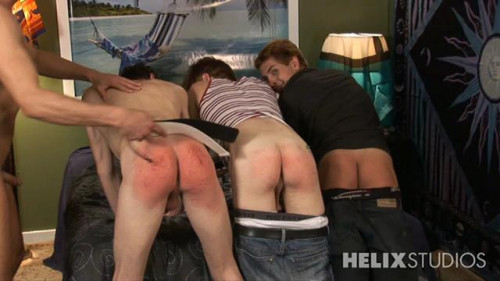 Gay BDSM Sterne and Pratts LIVE Spank