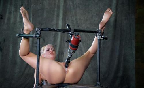 BDSM Roxy Rox bound and drilled hard - HD 720p