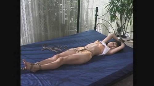 Asians BDSM Hemp Rope Cut into the Thread of the Woman part 136