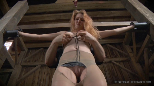 BDSM Ashley Lane Screams For Mercy And For More At the Top of Her Lungs
