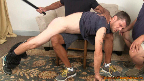 Gay BDSM Chris Spanked