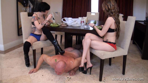 Femdom and Strapon Men Are Slaves Pack4