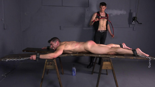 Gay BDSM Extreme Single Tail - Jeremy Spreadums - Full HD 1080p