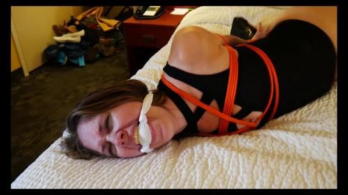 BDSM Nyxons Nipples Tied To Toes