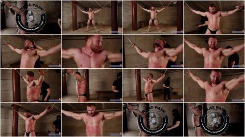 Gay BDSM RusCapturedBoys Bodybuilder Stepan in Slavery. Part II