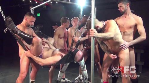 Gay BDSM Adam Russo's Gang Bang