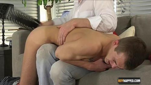 Gay BDSM Hot Boy Dan Gets Spanked