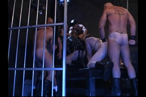 Gay BDSM Dirty Bondage Fuck & Domination Orgy