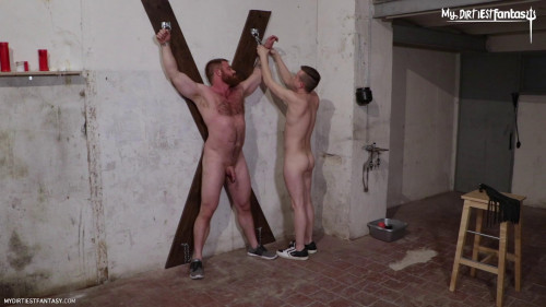 Gay BDSM Punished by Silas - Scene 2 - American FF and Silas Rise - Full HD 1080p
