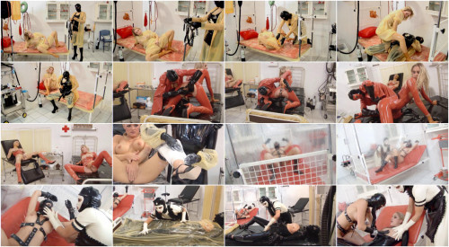 BDSM Latex The Rubber Clinic-Clinic Clips Films Part 4