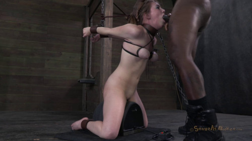 BDSM Southern 18Yr Old Rides The Sybian