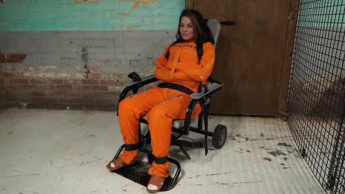 BDSM Arrested put in chair