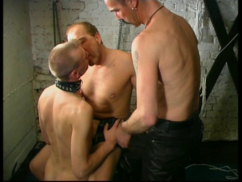 Gay BDSM Extrem Stopf Mir Mein Maul