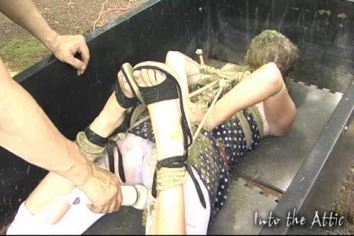 BDSM Into The Attic Real Amateur, Bondage Part Four