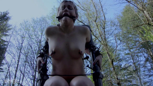 BDSM Sasha Heart Tries Out For A Movie, But Stays For The Rest Of Her Life!