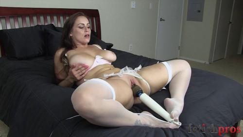 BDSM Belt Bondage and Foot Tease - Part 5 - HD 720p