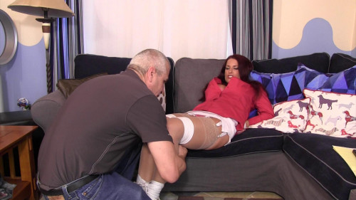 BDSM Goldie Blair-Trophy mom gets her way! Bound and gagged!