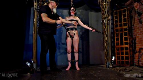 BDSM Restrained Cane en Dragontail - Abigail Annalee