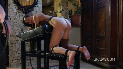 BDSM Monica, 22 years old student punished & dominated