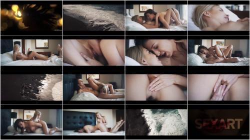 Lesbians Emylia Argan, Olivia Sin - Beach FullHD 1080p