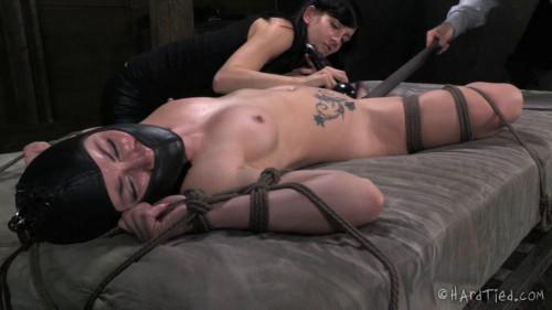 BDSM HardTied Veruca James Double Team Tease
