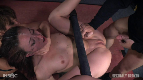 bdsm Bound To a Table and Mercilessly Fucked