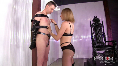 Femdom and Strapon Lily Labeau Cock Prisoner
