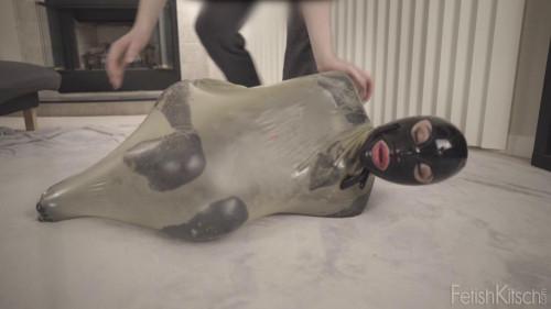 BDSM Latex Luftballon