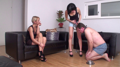 Femdom and Strapon  Training  part 9