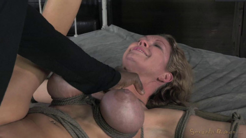 bdsm Big breasted Rain DeGrey takes on 10 inches of BBC