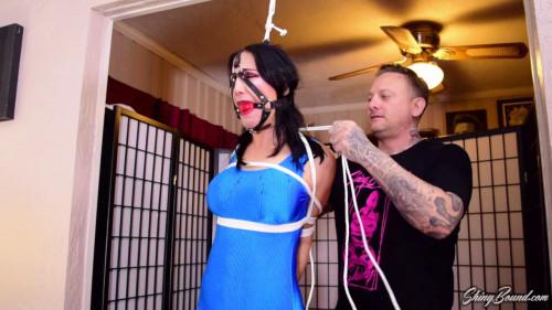 BDSM Raven Eve.. Swimsuit Model Captured