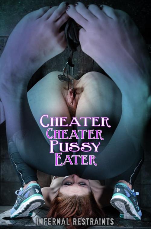 BDSM InfernalRestraints Violet Monroe Cheater Cheater Pussy Eater