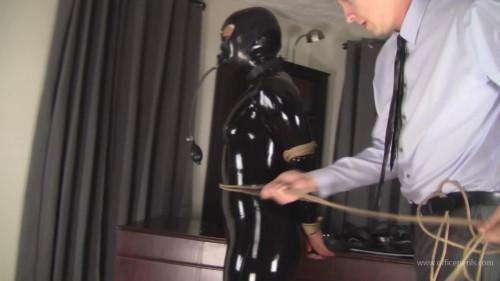 BDSM Latex Adara Jordin : Completely Latex Encased