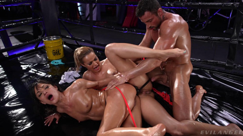 Alyssa Reece, Cherry Kiss - The Spanish Stallion Undefeated Scene 2 (2021)