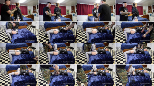 BDSM SBound - Trip Six.. Straightjacketed and Vibed