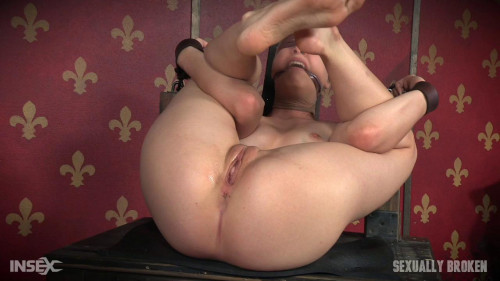 bdsm Bendy Zoey Laine is roughly double fucked to massive squirting
