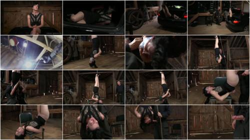 BDSM Tight bondage, strappado and torture for horny slavegirl part 1 Full HD 1080p