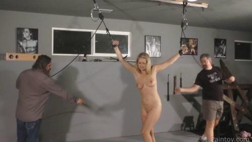 BDSM Super bondage, domination and spanking for beautiful girl Full HD1080