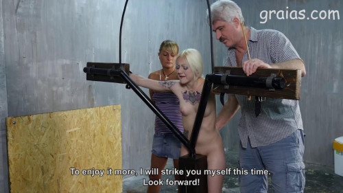 BDSM 150 Cane Strokes For Nessie - Part 3