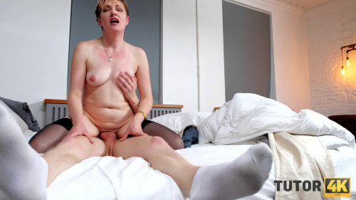 Janine Hard - I talked my tutor into sex right in her apartment (2021)