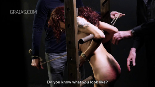 BDSM Graias - The Bet pt. 3 - The ultimate impudence