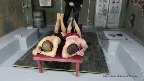 Gay BDSM Two Robbers (Final Part)