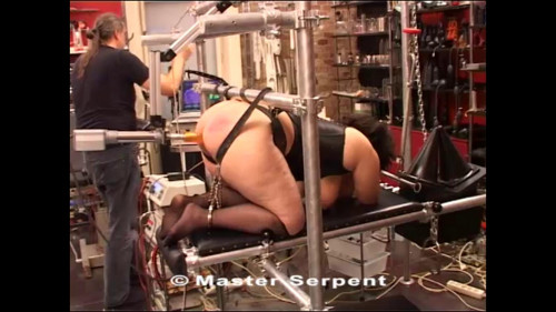 BDSM Beauty Alisha Visiting the Torture Galaxy part 2