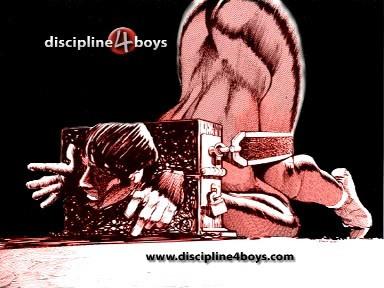 Gay BDSM Discipline4boys - Collection 9