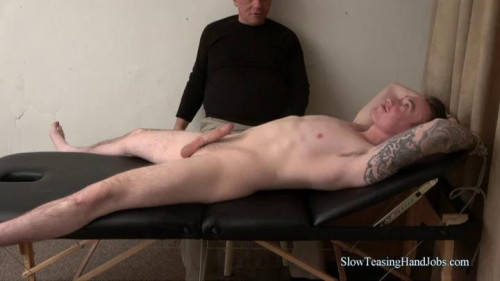 Gay BDSM Tommy Hanging on the Edge