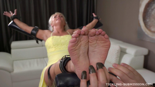 BDSM Super ticklish milf