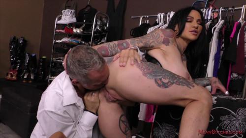 Femdom and Strapon Femdom & Ass Licking - Jenevieve Hexxx