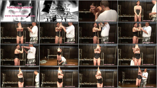 BDSM Toaxxx - (tx255) Breast Predicament for sexy Julia Power - August 6, 2016