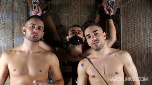 Gay BDSM HK - Under Total Control (Evan Bull, Josh Milk and Robbie Rojo)
