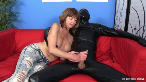 Femdom and Strapon Wrapped and Jacked